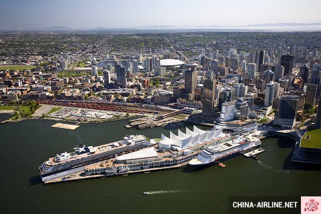 ve may bay di Vancouver China Airlines